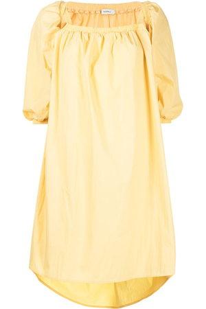 GOEN.J Ruffled A-line midi-dress
