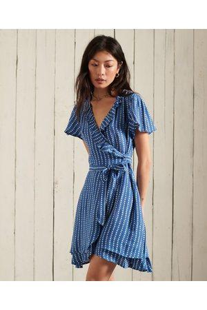 Superdry Women Summer Dresses - Summer Wrap Dress