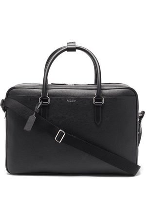 SMYTHSON Men Suitcases - Ludlow Grained-leather Holdall - Mens