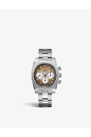 Zenith 03.A384.400/385.M385 Chronomaster Revival A385 El Primero stainless-steel automatic watch