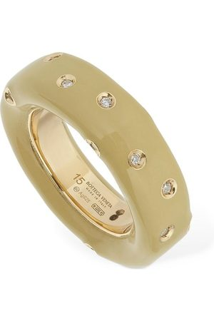 Bottega Veneta Band Crystal Ring