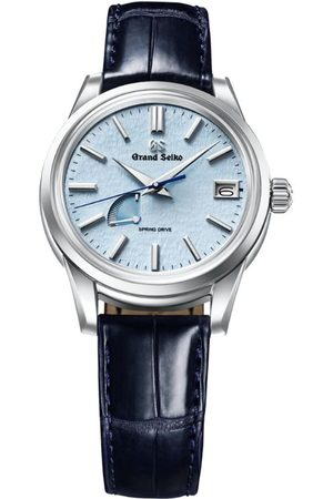Grand Seiko Stainless Steel Elegance Snowflake Spring Drive Watch 40.2mm