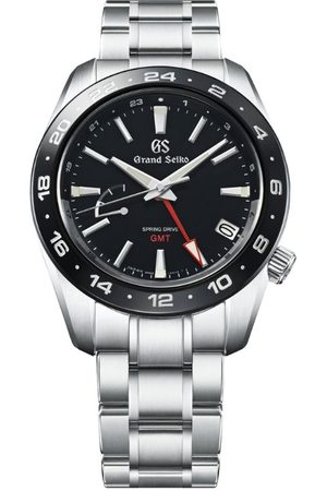 Grand Seiko Stainless Steel Sport GMT Spring Drive Watch 40.5mm