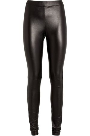 Joseph Leather Stretch Leggings