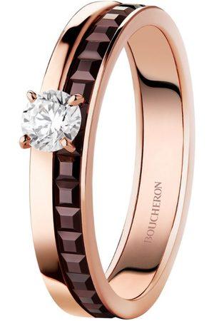 Boucheron Mixed Gold and Diamond Quatre Ring