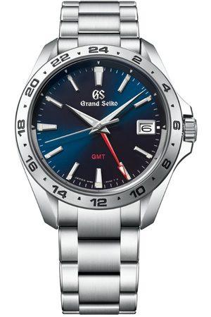 Grand Seiko Men Watches - Stainless Steel Sport GMT Quartz Watch 39mm