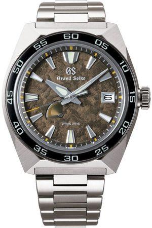 Grand Seiko Titanium 20th Anniversary Sport GMT Spring Drive Watch 44.5mm