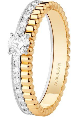 Boucheron Mixed and Diamond Quatre Ring