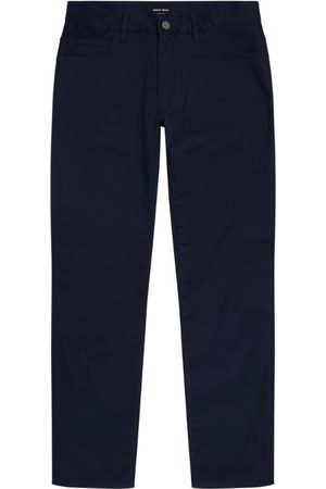 Armani Stretch-Cotton Chino Trousers