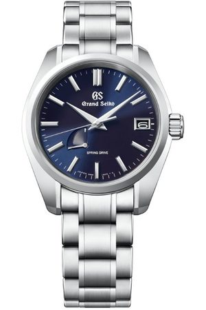 Grand Seiko Stainless Steel Heritage 4GGS Spring Drive Watch 40mm