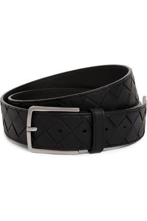 Bottega Veneta Belts - Leather Intrecciato Belt