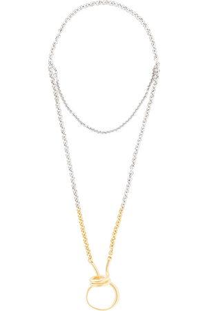 CHARLOTTE CHESNAIS Women Necklaces - Round Trip necklace - Metallic