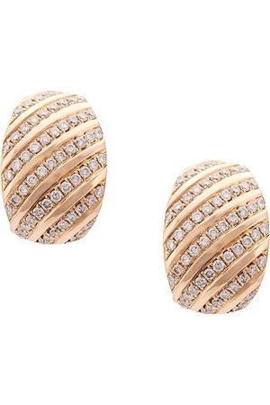 Dana Rebecca Designs 14kt rose diamond earrings