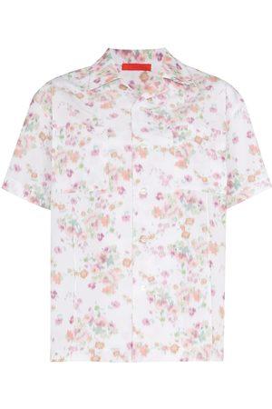 Commission Floral-print short-sleeve shirt