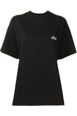 We11 Done Women Short Sleeve - Wapen logo cotton t-shirt