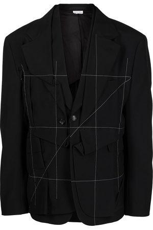 Comme Des Garçons Homme Plus Men Blazers - Deconstructed wool blazer