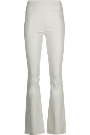 SYLVIE SCHIMMEL Women Leather Trousers - Flared leather trousers