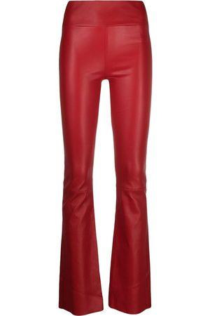 Sylvie Schimmel High-waisted bootcut trousers