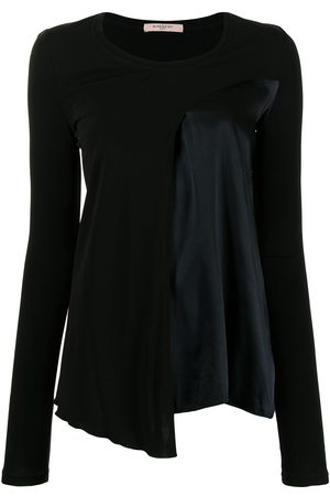 Givenchy Pre-Owned Panelled long-sleeved blouse