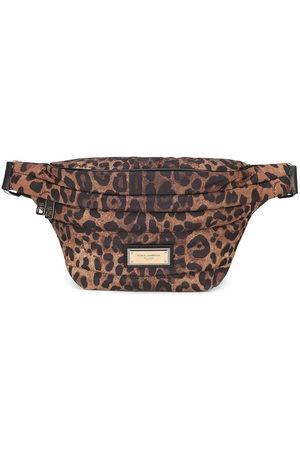 Dolce & Gabbana Men Belts - Leopard-print belt bag