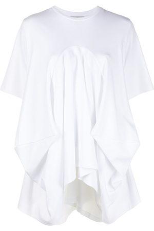 GOEN.J Draped cotton T-shirt