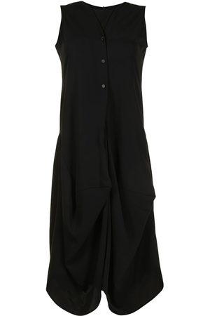 GOEN.J Women Sleeveless Dresses - Draped sleeveless dress