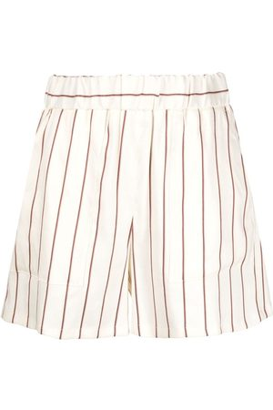 Closed Striped tailored shorts - Neutrals