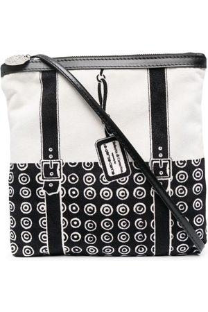 10 CORSO COMO Geometric-print panelled crossbody bag