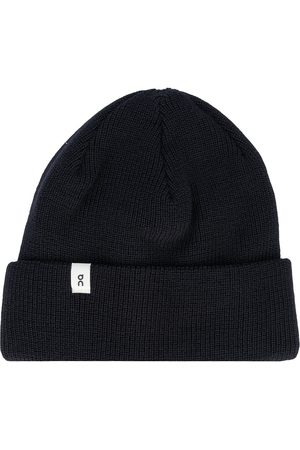 ON Running Ribbed-knit beanie hat