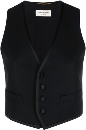 Saint Laurent Virgin wool waistcoat