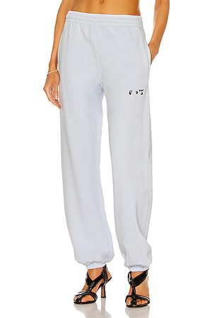 OFF-WHITE Logo Slim Sweatpant in Lilac &