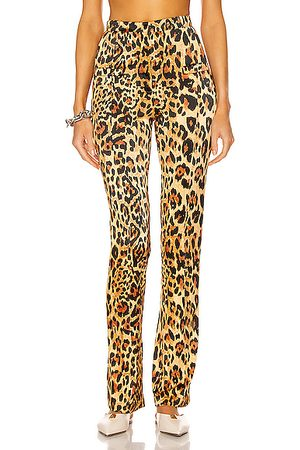 Paco rabanne Tailored Pant in Leopard
