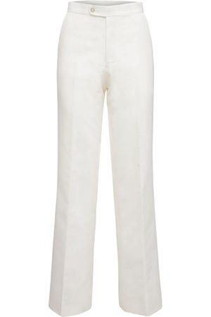 JUNYA WATANABE Women Trousers - High Waist Nylon Twill Pants