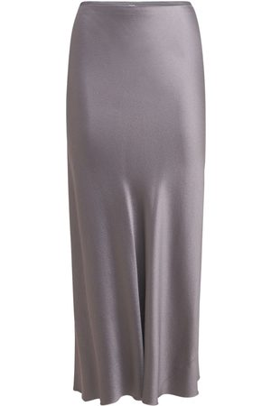 Maison Margiela Enver Satin Midi Skirt