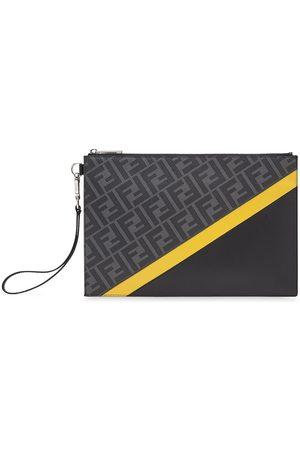 Fendi Flat FF motif panelled pouch