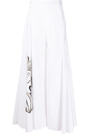 Rosie Assoulin Women Wide Leg Trousers - Miss Direction flared trousers