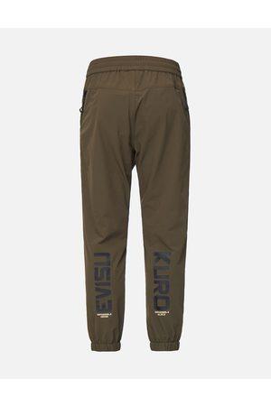 Evisu Men Skinny Trousers - Zip Pocket Slim Fit Sport Pants