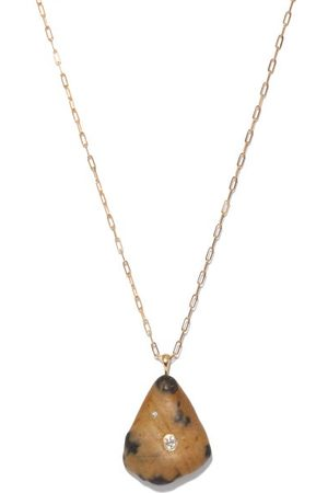 CVC STONES Heartbeat Diamond & 18kt Gold Necklace - Womens