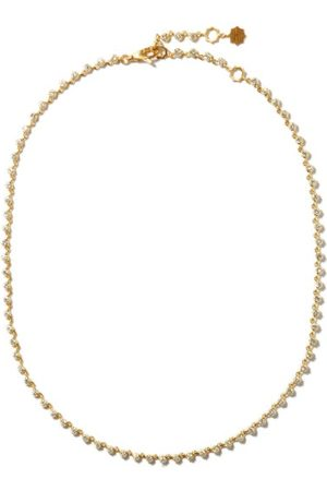 Jade Trau Sophisticate Riviera Diamond & 18kt Choker - Womens