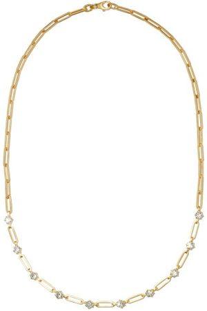 Jade Trau Phoebe Diamond & 18kt Necklace - Womens