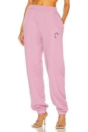 The Attico Peggy Pant in Orchid Haze