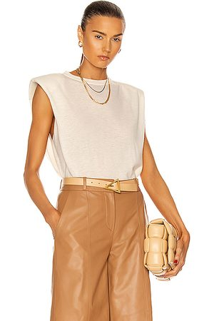 Loulou Studio Prince Top in Ivory