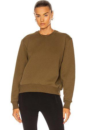 WARDROBE.NYC Track Sweatshirt in Military