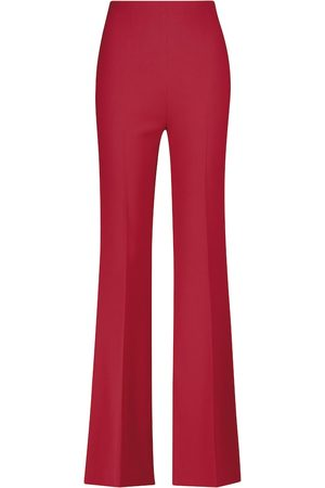 Roland Mouret Saxley high-rise straight stretch-crêpe pants