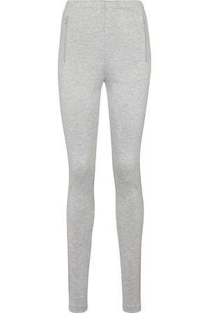 WARDROBE.NYC Jersey split-hem leggings