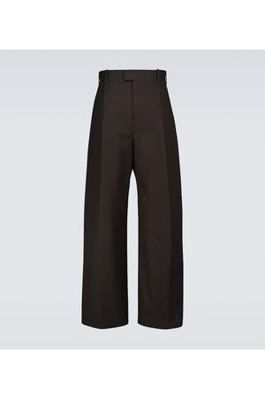 Bottega Veneta Wide-leg cotton pants