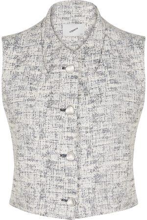 COPERNI Sleeveless tweed vest