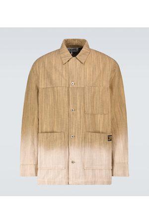 Loewe Paula's Ibiza bleached striped jacket