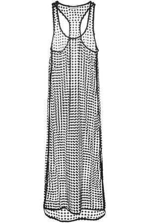 Ganni Lace midi dress