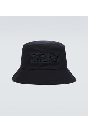 Fendi Bucket canvas hat